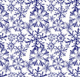Background snowflake winter Stock Photography