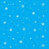 Background from snowflake Stock Photo