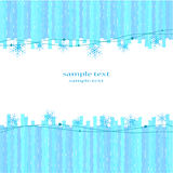 Background with snowflakes. Light blue background with snowflakes Royalty Free Stock Photography