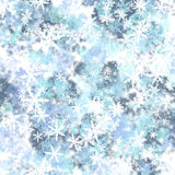 Background from snowflakes. Decorative background made of different Stock Images