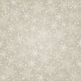 Background  with snowflakes. Seamless gold background  with snowflakes Royalty Free Stock Photography