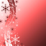 Background with snowflakes. Christmas decorative background with snowflakes. Figure for congratulations Royalty Free Stock Photos