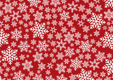 Background with snowflakes Stock Images