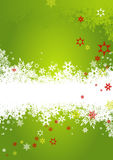 Background with snowflakes. Royalty Free Stock Image