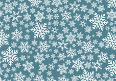 Background with snowflakes Royalty Free Stock Images