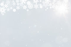 Background with snowflakes for christmas Royalty Free Stock Image
