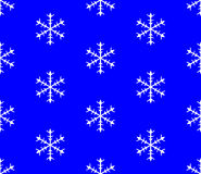 Background of snowflakes. Seamless Winter Vector Stock Photo