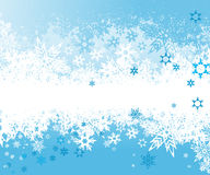 Background with snowflakes. Vector Royalty Free Stock Images