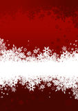 Background with snowflakes. Vector Stock Photography