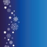 Background snowflakes vector Stock Photo