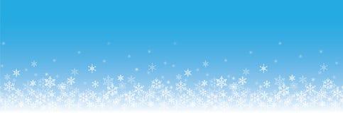 Background of snowflakes. Winter illustration royalty free illustration