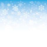 Background of snowflakes. Winter illustration vector illustration