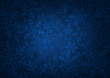 Background with snowflakes - Winter theme Royalty Free Stock Photos