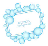 Background with soap bubbles Royalty Free Stock Images
