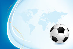 Background with Soccer Ball Stock Images