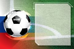 Background soccer football Competition schedule. A background soccer football Competition schedule Stock Photography