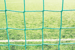 Background of soccer goalnet Royalty Free Stock Photos