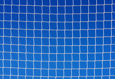 Background of soccer net Royalty Free Stock Photo