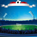 Background with Soccer Stadium. Abstract Background with Soccer Stadium vector illustration