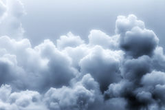 Background of soft clouds fairytale mysterious atmosphere. A royalty free stock images
