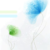 Background with soft flowers Royalty Free Stock Photography