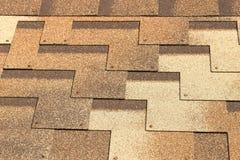 Background. Soft roof. Tile. Stock Image