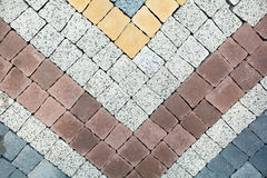 Background sort of paved blocks, beautifully. Background from granite. Beautiful flooring for kitchen or garden Stock Photos