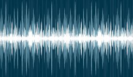 Background with sound scale. A background with the image of a sound wave Royalty Free Stock Photography