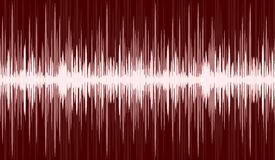 Background with sound scale. A background with the image of a sound wave Stock Photo