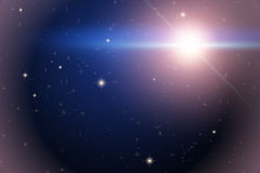 Background of Space with bright star Royalty Free Stock Photos