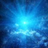 Background of space with stars Royalty Free Stock Photo