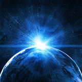 Background of space with stars Stock Photo