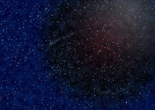 Background of space with stars Stock Image
