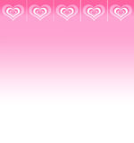 Background with space for text with abstract hearts Stock Photo