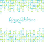 Background with space for text. Card of congratulations. Royalty Free Stock Image