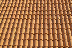 Spanish Clay Tiles For Background Or Backdrop Royalty Free Stock Photo