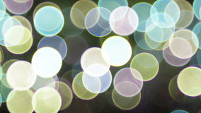 Background with sparkling spot lights video stock video