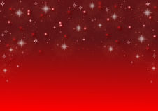 Background with sparkling stars Royalty Free Stock Images