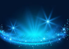 Background with Sparkling Stream Effect Stock Photos