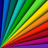 Background spectrum lines Royalty Free Stock Photo