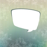 Background with speech bubble.  + EPS8. Vector file Royalty Free Illustration