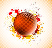 Background with sphere Stock Image