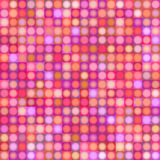 Background with sphere and square in multiple pink red magenta. Orange Stock Photos