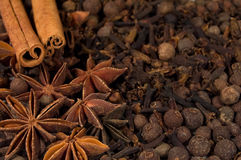 Background of spices Stock Photo