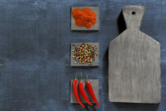 Background with spices Royalty Free Stock Photos