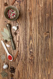 Spices background Royalty Free Stock Photography