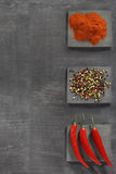 Background with spices Stock Images