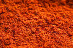 Background of spicy chili powder Stock Photos
