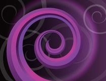 Background with spiral Royalty Free Stock Photos