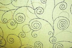 Background with spirals Royalty Free Stock Images